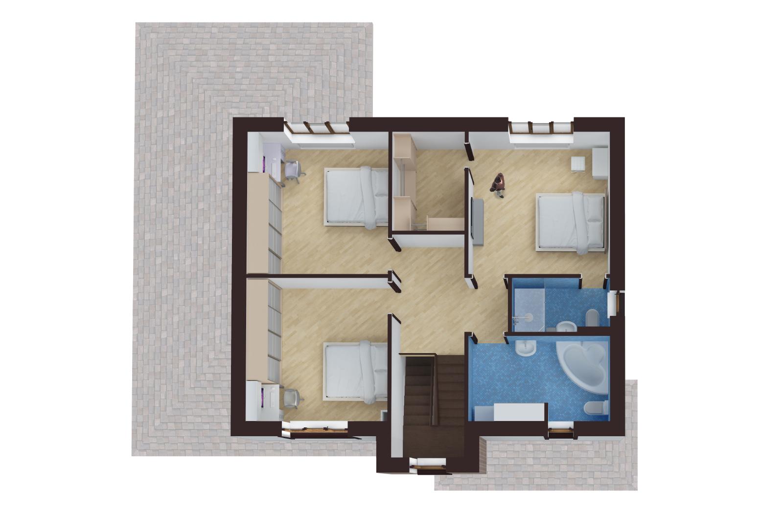 План 2-й этаж