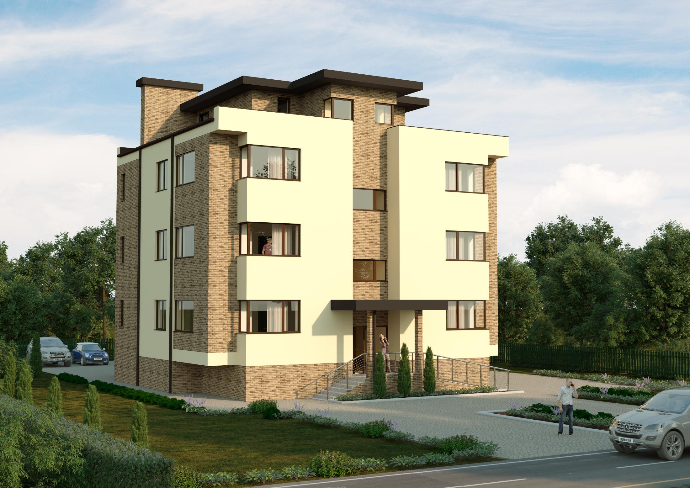 Клубный дом с 2-х комнатными квартирами