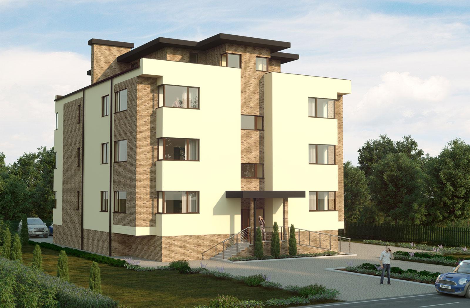 Клубный дом с 3-х комнатными квартирами